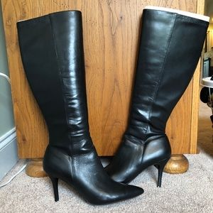 Size 12 knee-high boots from Nine West